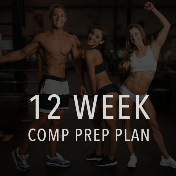 12 week comp prep and posing plan