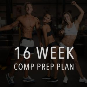 16 week comp prep and posing plan
